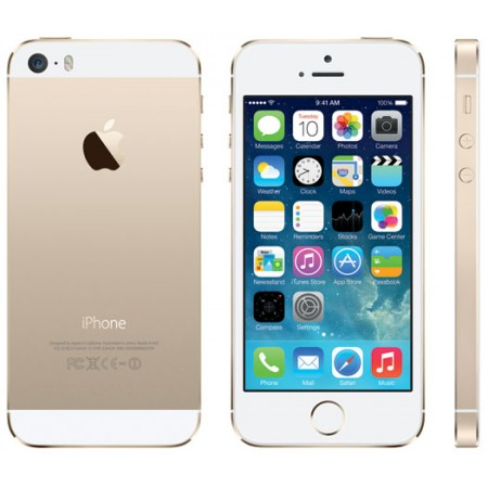 Apple iPhone 5s ( Gold Color, 16GB Storage, 1GB Ram ) Refurbished Grade B
