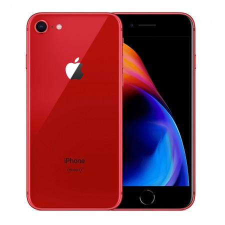 Apple iPhone 8 (256GB) Red Color Certified Refurbished Grade B.  6 Months Seller Warranty