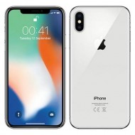 Apple iPhone X 64GB - Silver Color With original Box and Accessories. Certified Refurbished With 6 Month Seller Warranty