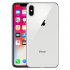 Apple iPhone X 64GB - Silver Color With original Box and Accessories. Certified Refurbished With 1 Year Seller Warranty