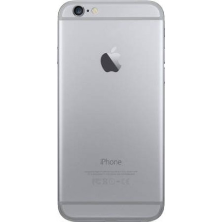Full Housing Metal Body Back Panel for iPhone 6 - Space Grey Color
