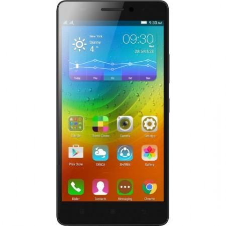 Lenovo A7000 Black Color (2GB RAM, 8GB Storage) Certified refurbished Grade B