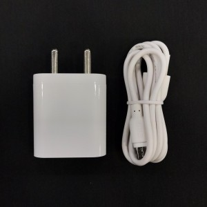Mobile Charger ERD TC-50 5V 2A Fast Charger with 1 m USB Cable for All Android and Smart Phones (White)