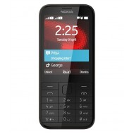 Nokia 225 Dual Sim Black Mobile Phone (6 Months seller Warranty) Certified Refurbished