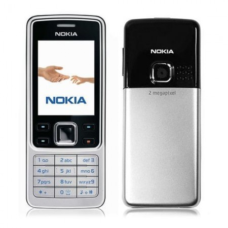 Nokia 6300 Mobile Phone Silver (6 Months seller Warranty) Certified Refurbished