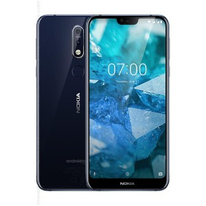 Nokia 7.1 Smartphone (Gloss Steel, 4 GB RAM, 64 GB Internal Storage) Certified Refurbished With 6 Months Seller Warranty