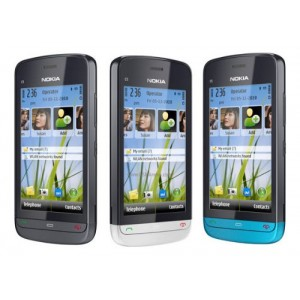 Nokia C5-03 TouchScreen Mobile Phone Black (6 Months seller Warranty) Certified Refurbished