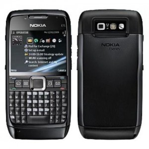 Nokia E71 Black Mobile Phone (6 Months seller Warranty) Certified Refurbished