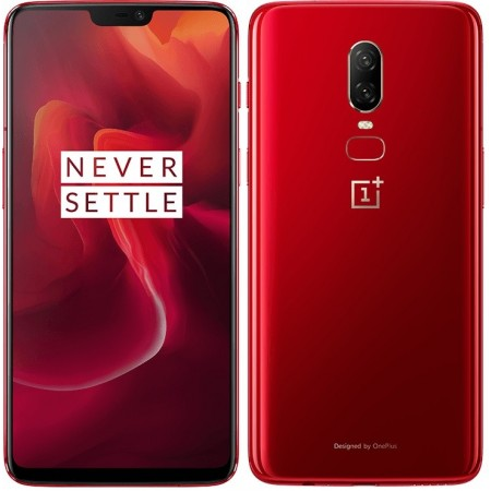OnePlus 6 (Amber Red, 8 GB RAM, 128 GB Storage) With Original Box And Accessories. Certified Refurbished With 6 Month Seller Warranty