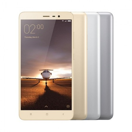 Redmi Note 3 (Gold, 2GB RAM, 16GB Storage) Smartphone With Finger Print sensor, 6 Months Seller warranty