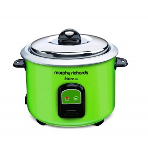 (Refurbished) Morphy Richards Bistro 1.5 Litre Electric Rice Cooker (Green)