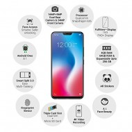 Vivo V9 (Pearl Black-Gold, 4GB RAM, 64GB Storage) Certified Refurbished Grade B