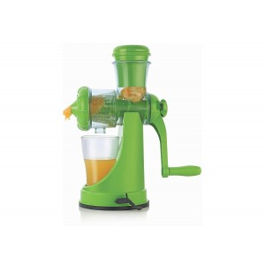 Apex Plastic Fruit and Vegetable Juicer, Green
