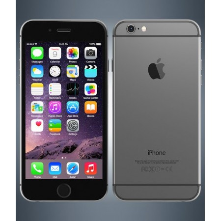 Apple iPhone 6 ( Space Grey Color, 16GB Storage, 1GB Ram ) Refurbished Grade B. With 1 Year Seller Warranty