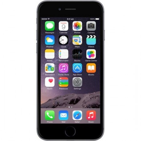 Apple iPhone 6 ( Space Grey Color, 16GB Storage, 1GB Ram ) Refurbished Grade B. With 6 Months Seller Warranty