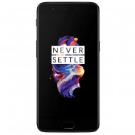 OnePlus 5 (Midnight Black 6 GB RAM, 64 GB memory) Certified Refurbished Grade B