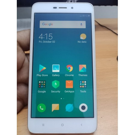 Redmi 4A Mobile Phone (2 GB RAM, 16 GB Storage ) Gold Color - Certified Refurbished. 6 Month Seller Warranty